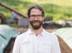 Headshot portrait of Shane Hardy
