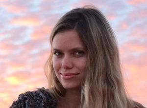 Headshot portrait of Aria McLauchlan, 2018 Exchange Fellow