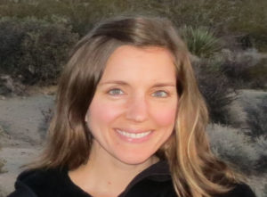 Headshot portrait of Kathryn Quanbeck, 2018 Exchange Fellow