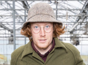 Headshot portait of Austen Wagner, 2018 agroecology apprentice