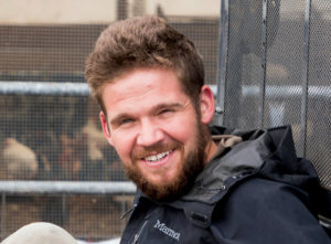 Headshot portrait of Dave Raggio, 2018 agroecology apprentice