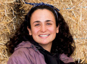 Headshot portrait of Isabel Buenaga Levis, 2018 agroecology apprentice