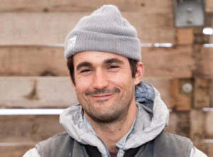 Headshot portrait of Lawrence Flick, 2018 agroecology apprentice