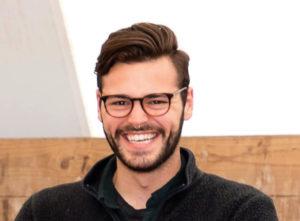 Headshot portrait of Michael Passalacqua, 2018 agroecology apprentice