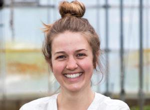 Headshot portrait of Sami Weiss, 2018 agroecology apprentice